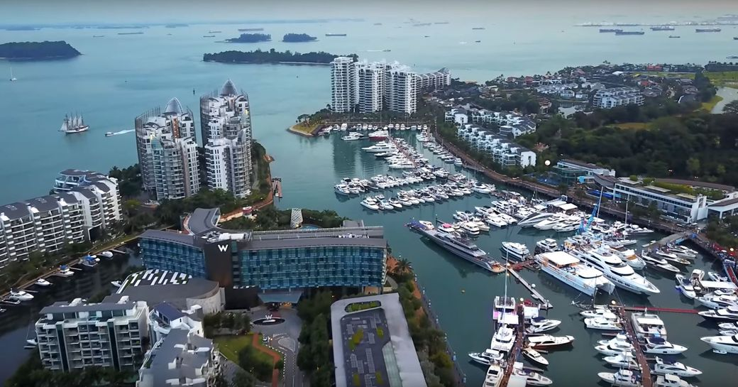 Brand New Footage From The Singapore Yacht Show 2017 photo 1