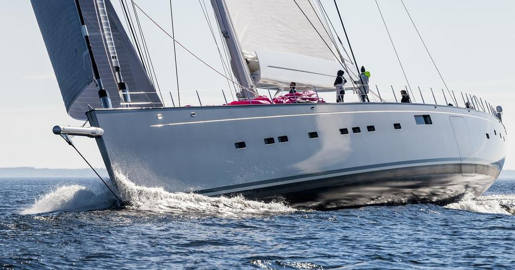 sailing yacht Pink Gin VI will appear at the Monaco Yacht Show