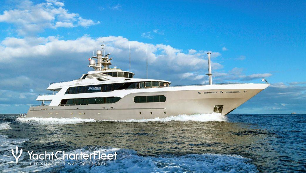 My Seanna Charter Yacht
