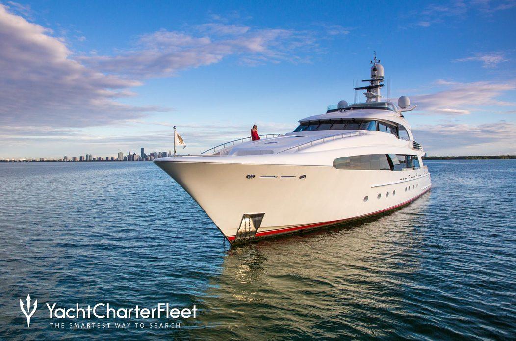 USHER Yacht Charter Price - Delta Marine Luxury Yacht Charter