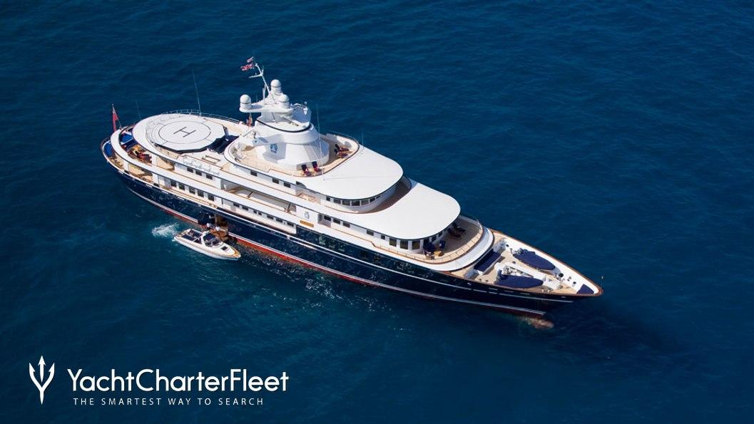 Leander G Charter Yacht