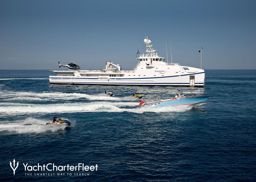 Garcon Charter Yacht
