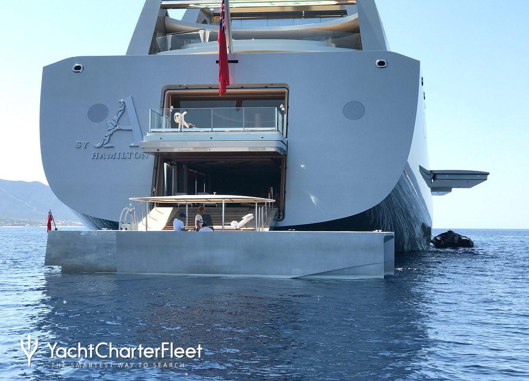 Sailing Yacht A Yacht Nobiskrug Yacht Charter Fleet