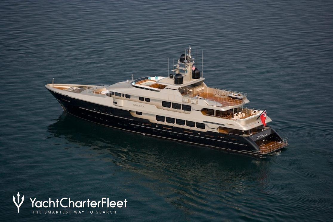 ODESSA Yacht Charter Price - Christensen Luxury Yacht Charter