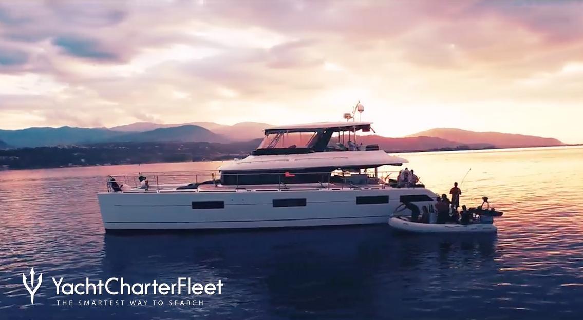 Cute Little Cat Charter Yacht