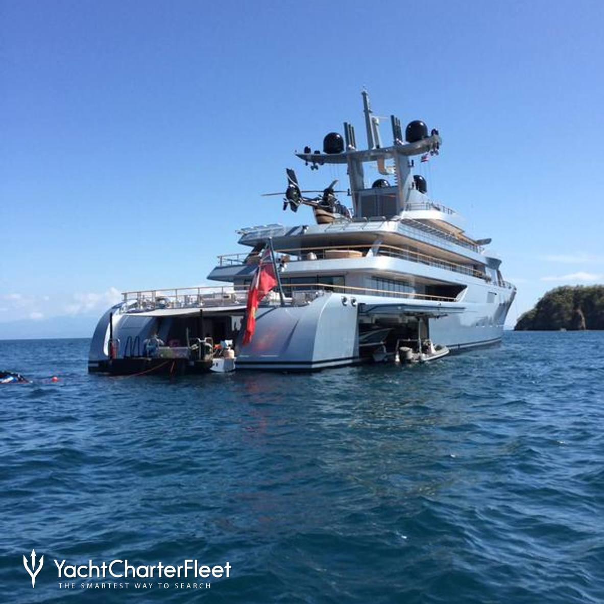 Pacific yacht photos lurssen yacht charter fleet for Lurssen yacht genova