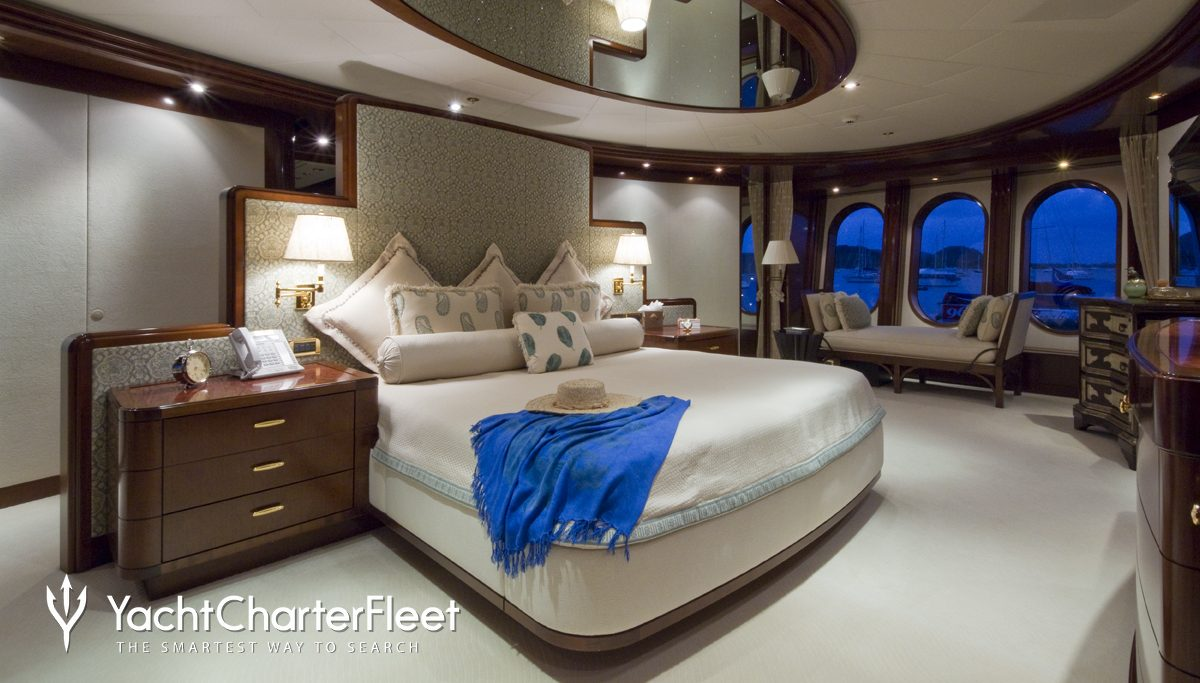 Blue Moon Yacht Master Stateroom