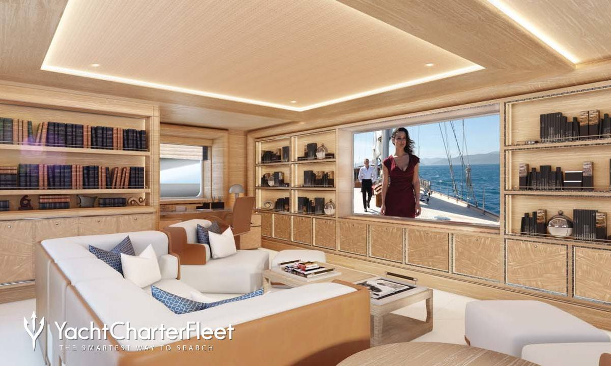 Cloud 9 yacht charter price crn luxury yacht charter Cloud 9 architecture