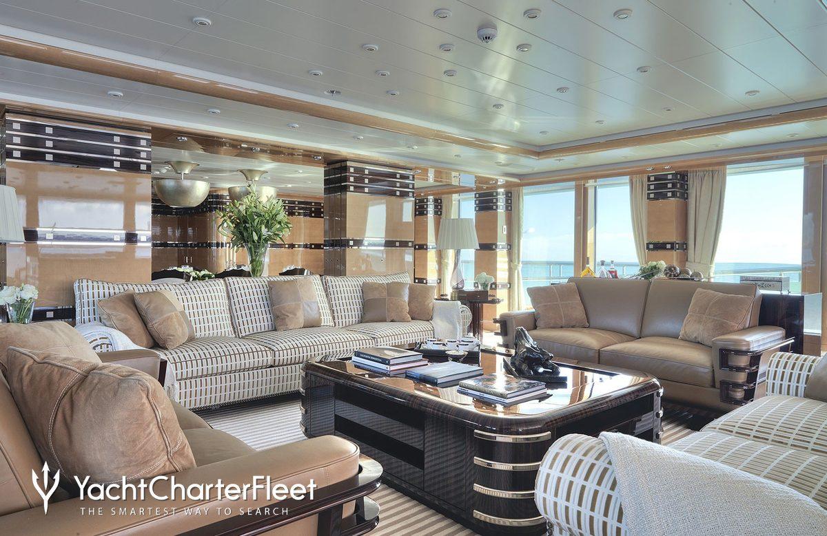 Luna B Yacht Oceanco Yacht Charter Fleet