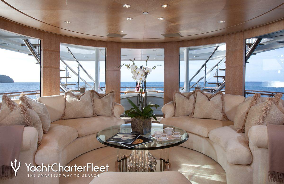 Nirvana yacht charter price oceanco luxury yacht charter -  Sunrise Yacht Sky Lounge