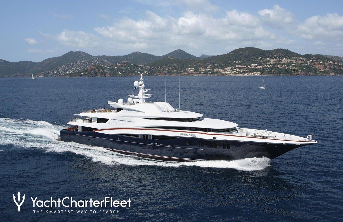Nirvana yacht charter price oceanco luxury yacht charter - View Yacht Anastasia Yacht Charter Oceanco Motor Yacht
