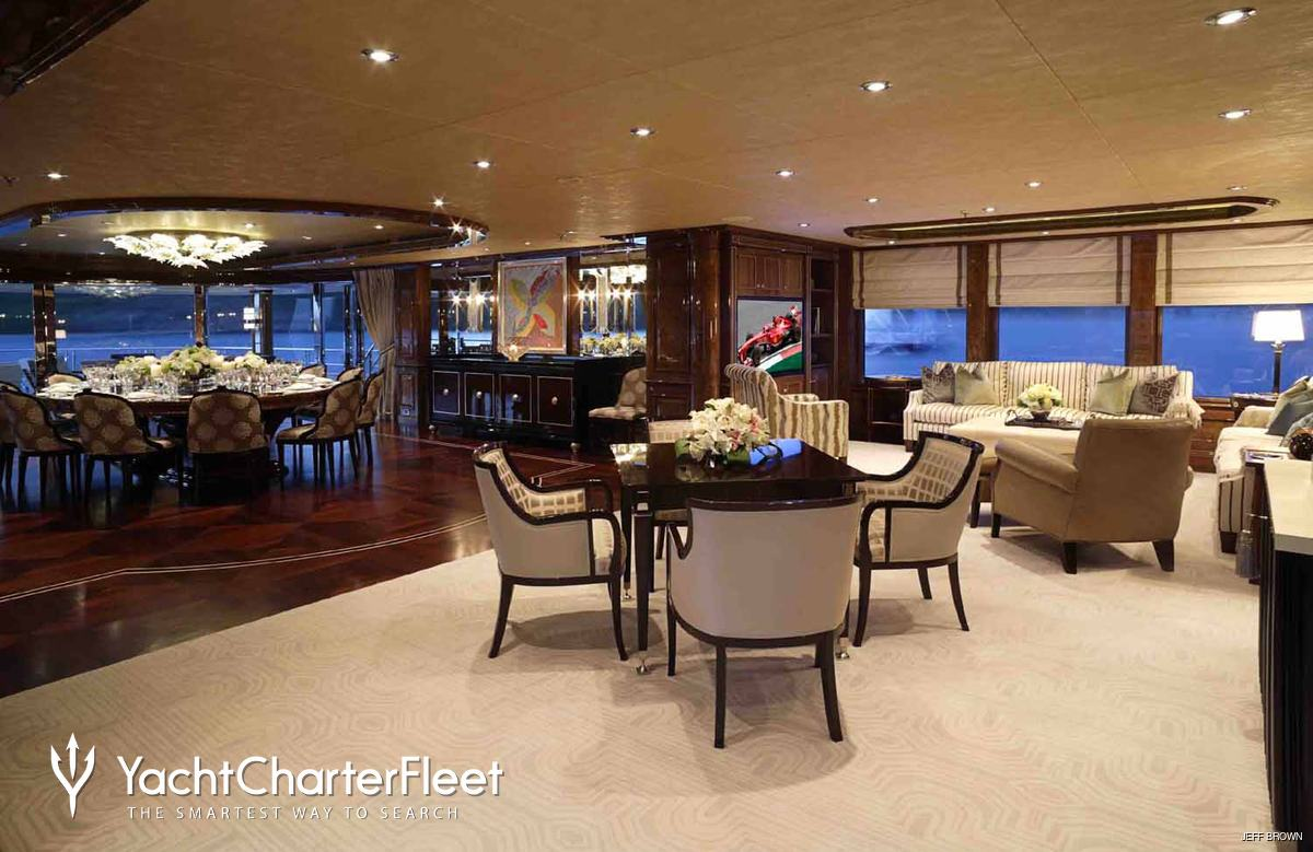 Invictus Yacht Charter Price Delta Marine Luxury Yacht