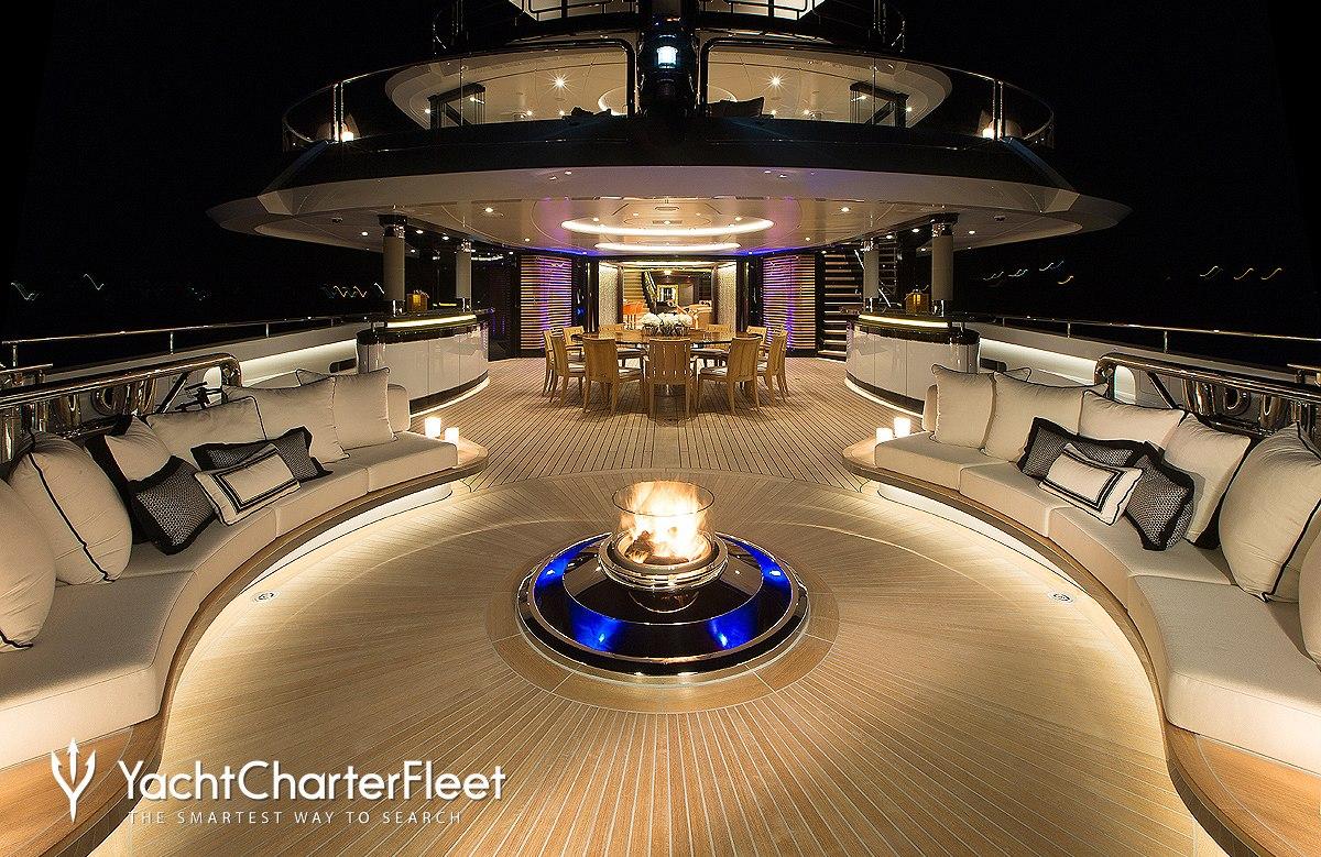 KISMET Yacht Charter Price (ex. Kismet II) - Lurssen ...