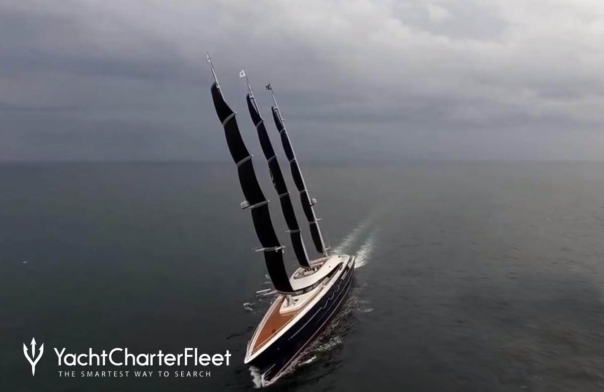 Black Pearl Yacht Ex Y712 Oceanco Yacht Charter Fleet