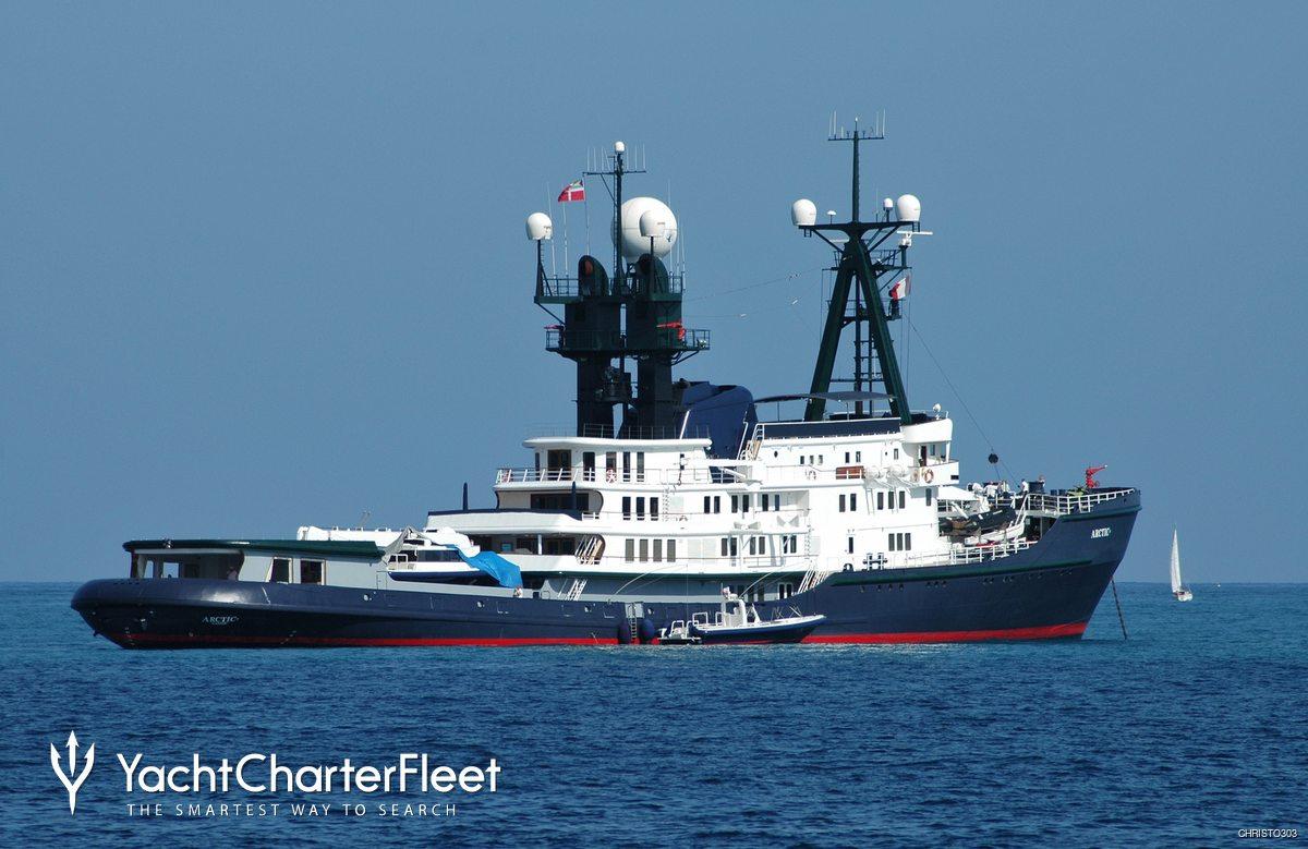 Arctic P Yacht Schichau Unterweser Yacht Charter Fleet