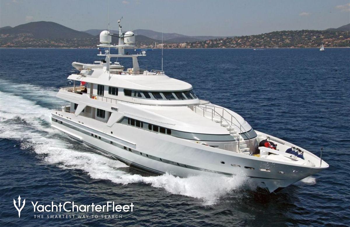 Deep Blue Ii Yacht Charter Price Oceanco Luxury Yacht Charter