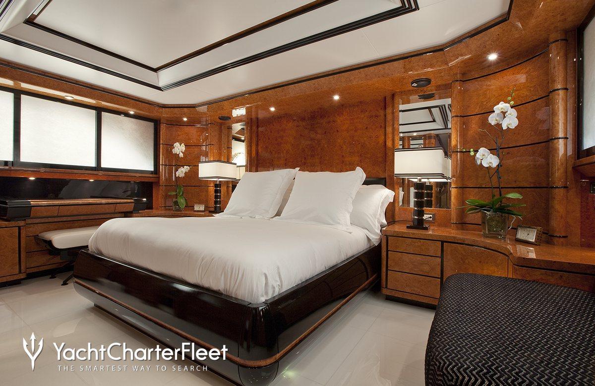 Milos Bedroom Furniture Milos At Sea Yacht Charter Price Codecasa Luxury Yacht Charter
