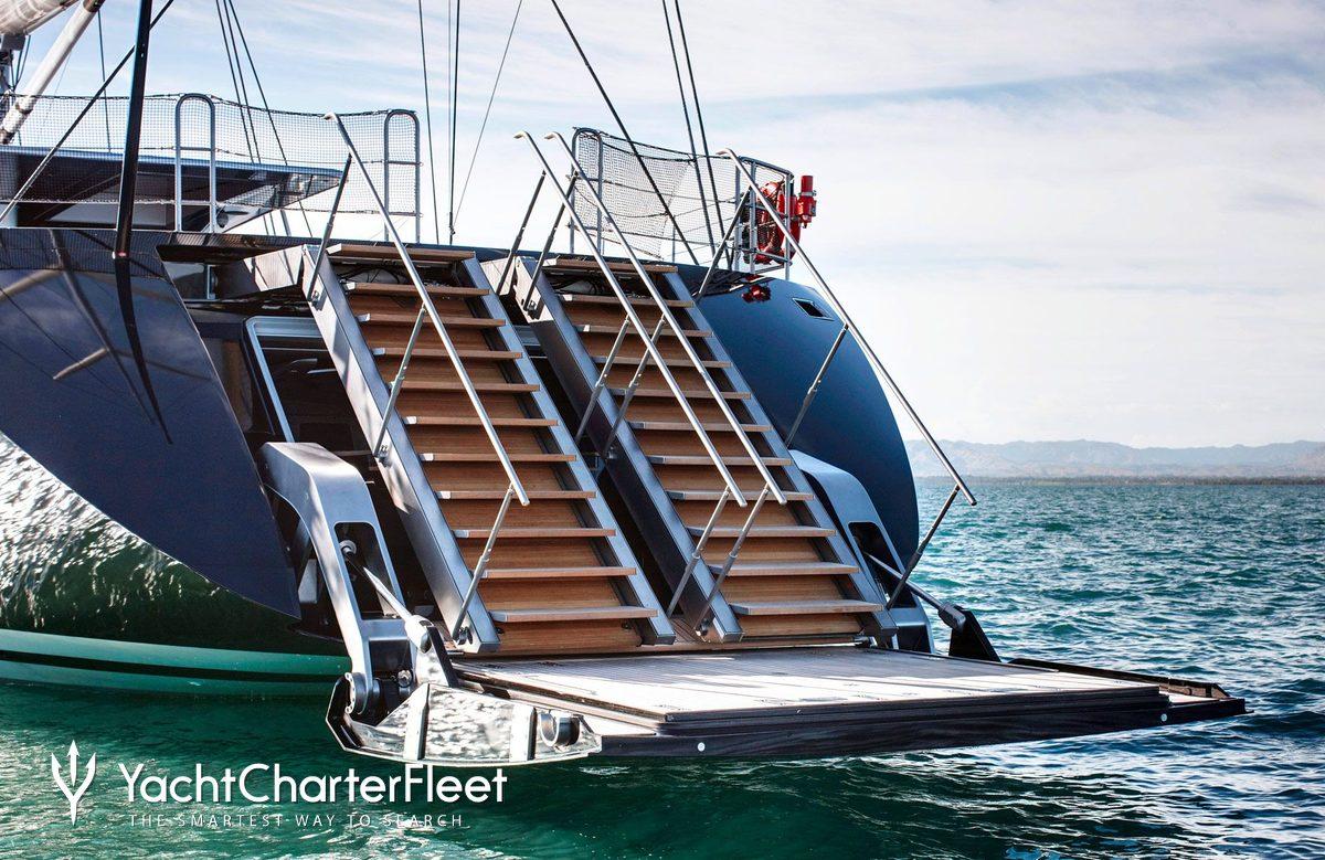 vertigo yacht photos m luxury sail yacht for charter launch vertigo beach club