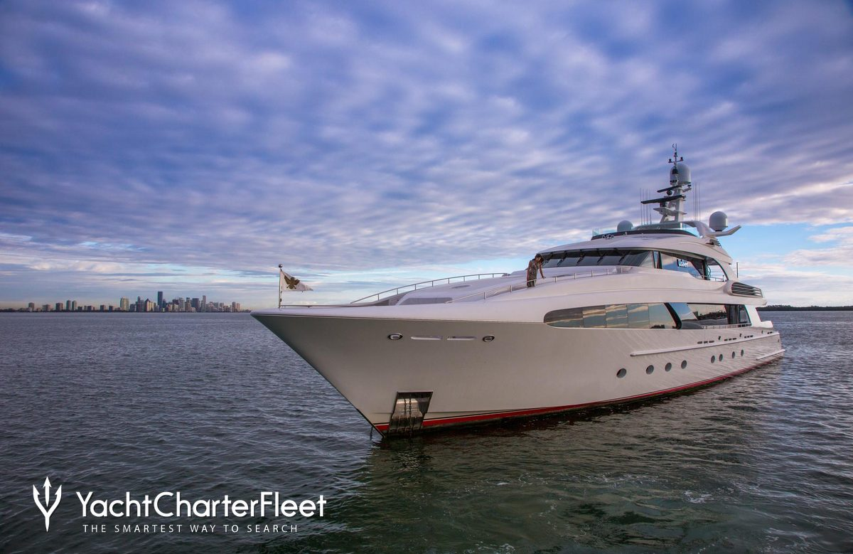 Usher Yacht Charter Price Delta Marine Luxury Yacht Charter