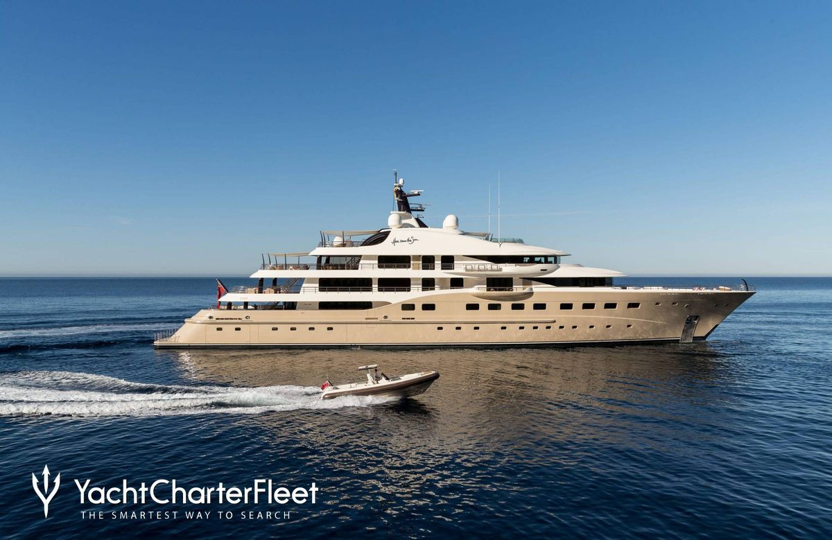 Here Comes The Sun Yacht Charter Price Amels Luxury