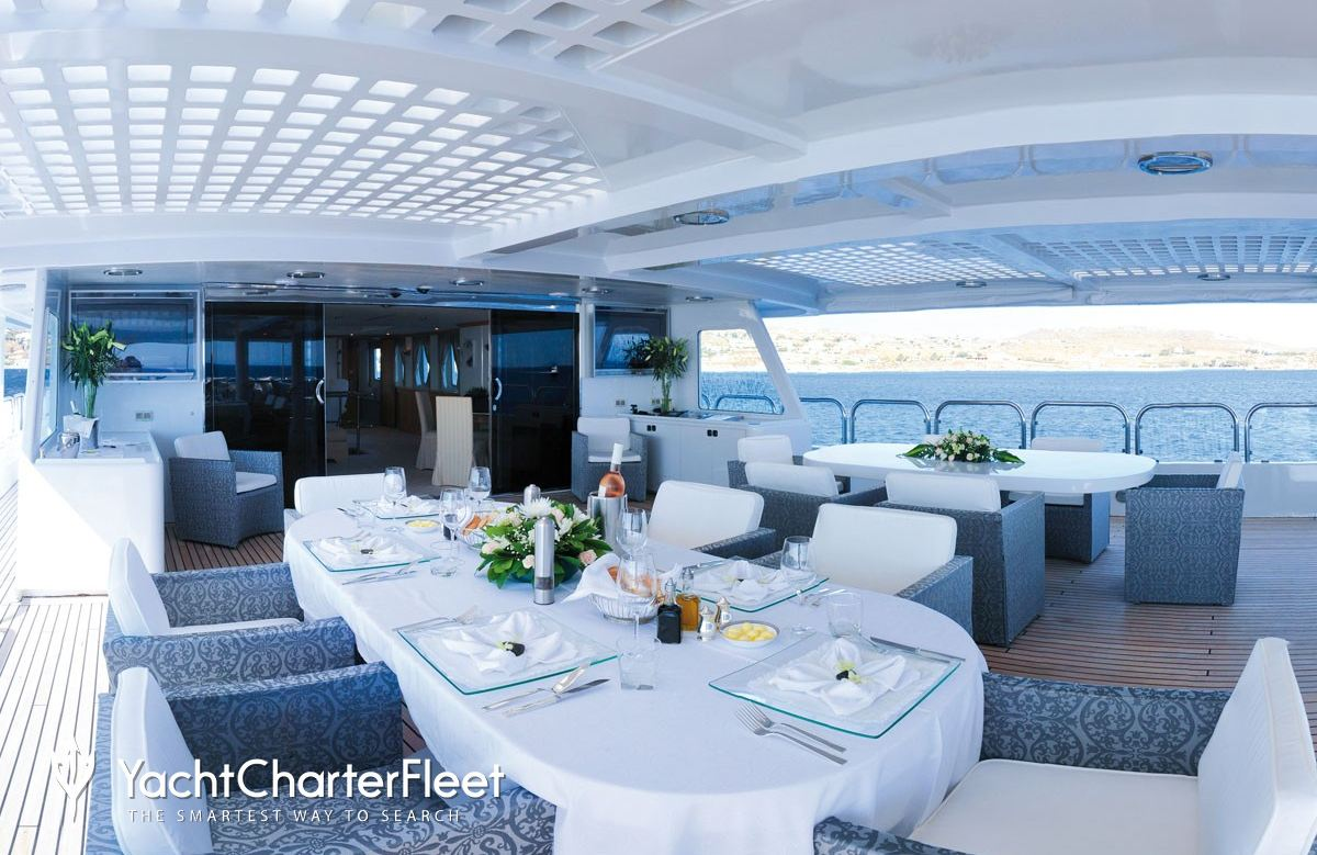 Magna Grecia Yacht Charter Price Elsflether Werft Luxury Yacht Charter