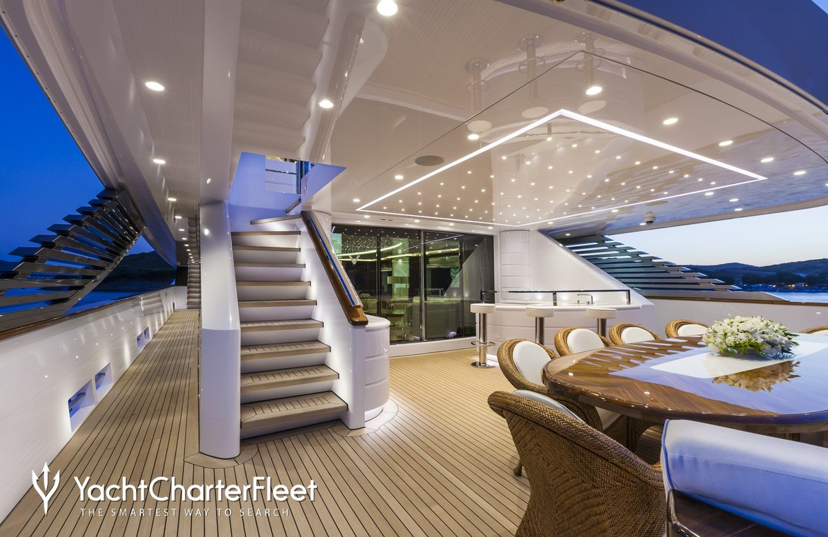 Vellmari yacht rossi navi yacht charter fleet for Eclairage exterieur design led