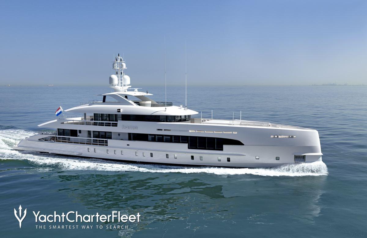 HOME Yacht Charter Price - Heesen Luxury Yacht Charter