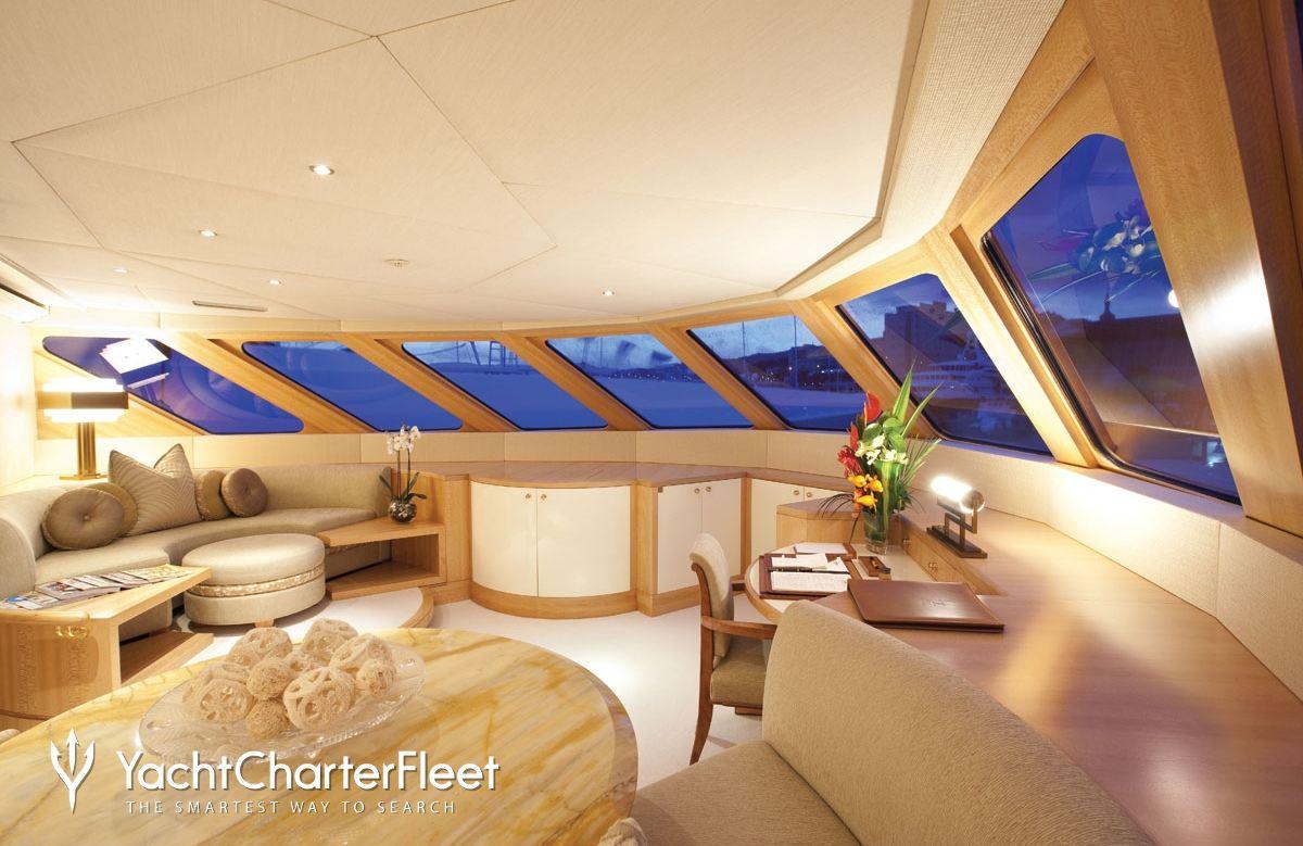 Nirvana yacht charter price oceanco luxury yacht charter -  Lazy Z Yacht