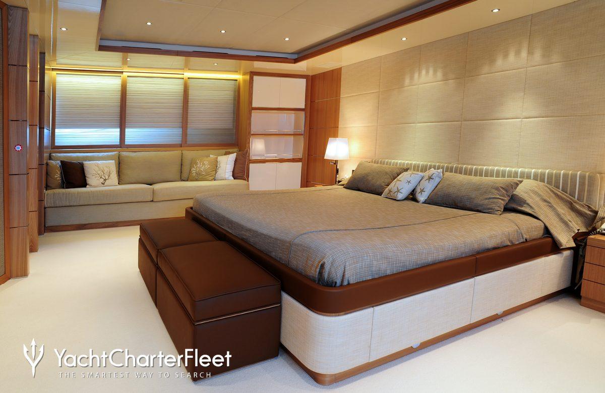 Nirvana yacht charter price oceanco luxury yacht charter -  Idefix Yacht