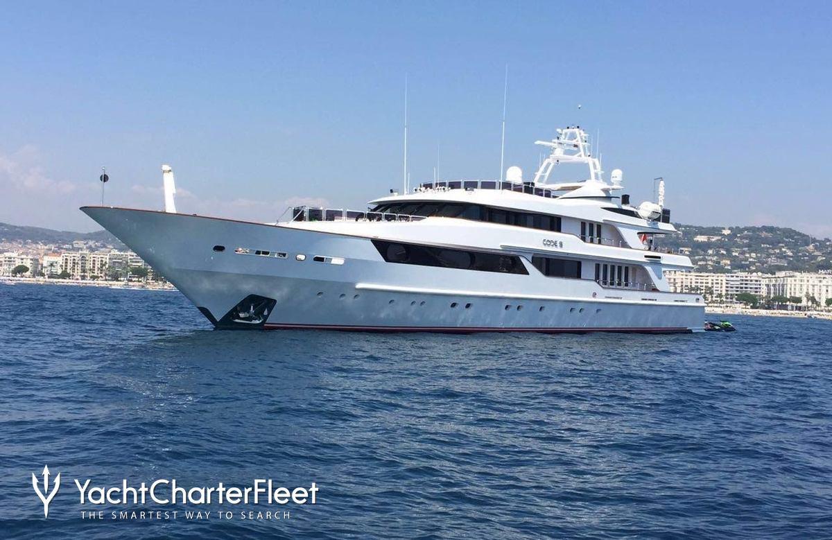 Nirvana yacht charter price oceanco luxury yacht charter - Code 8 164 04ft 50m Poa Diamond A Charter Yacht
