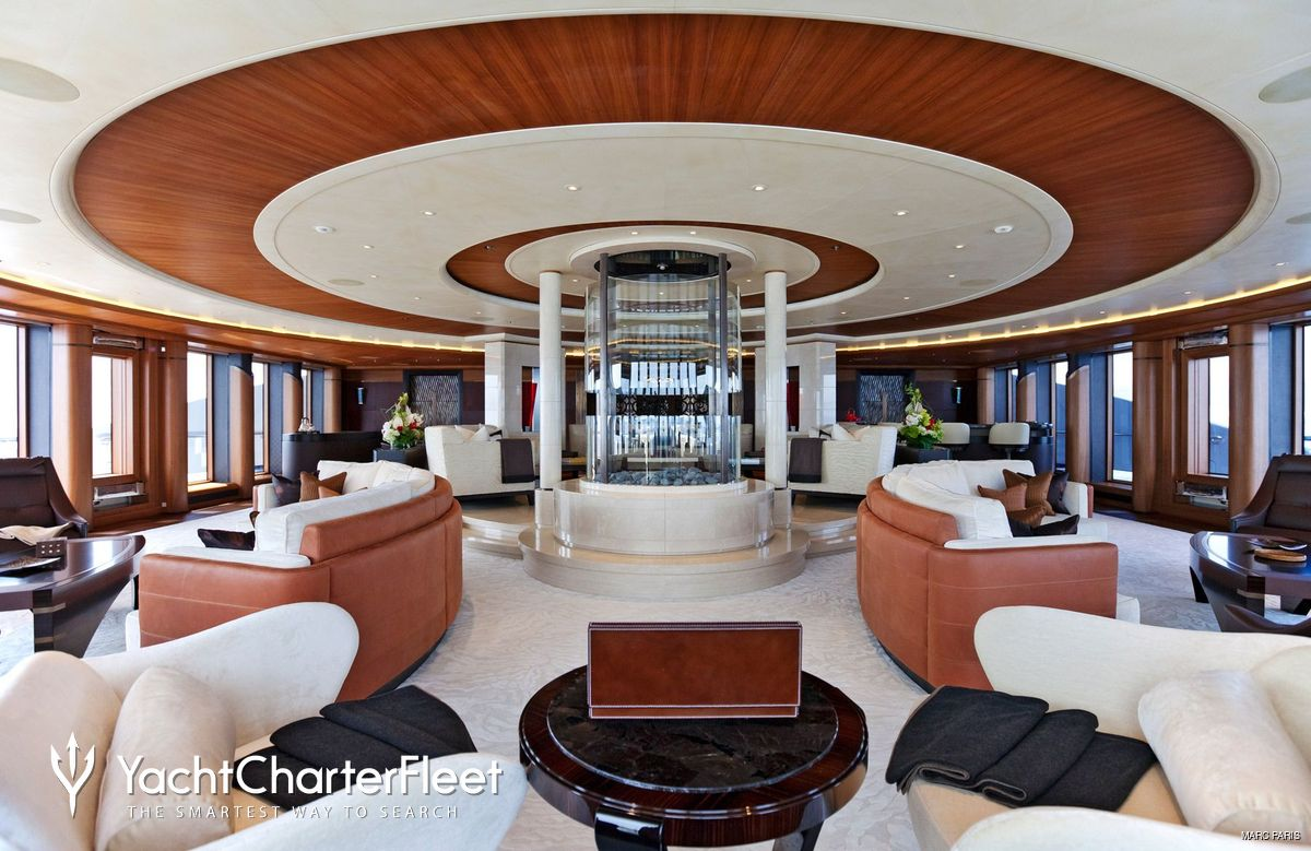 Serene on Mega Luxury Yachts Floor Plans