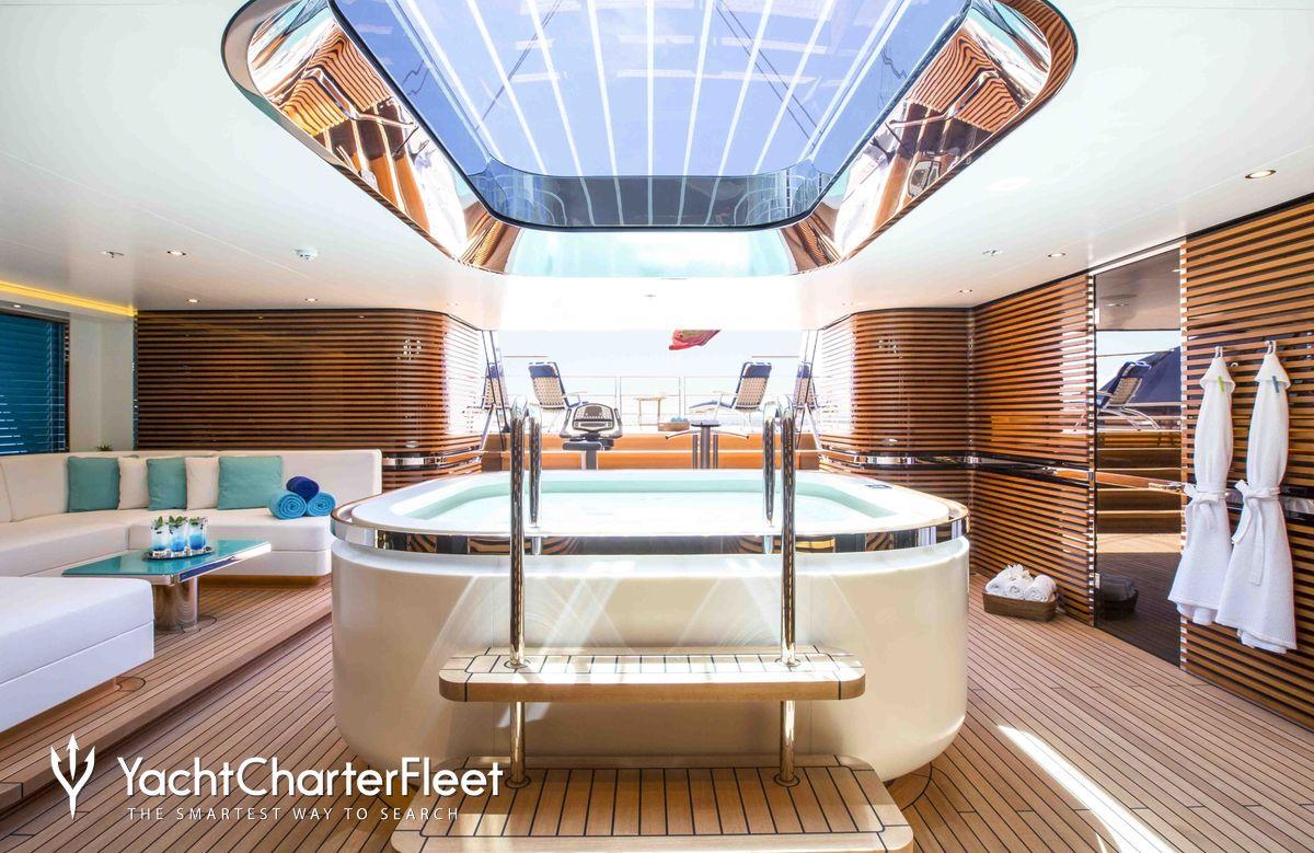 Nirvana yacht charter price oceanco luxury yacht charter -  Aquijo Yacht