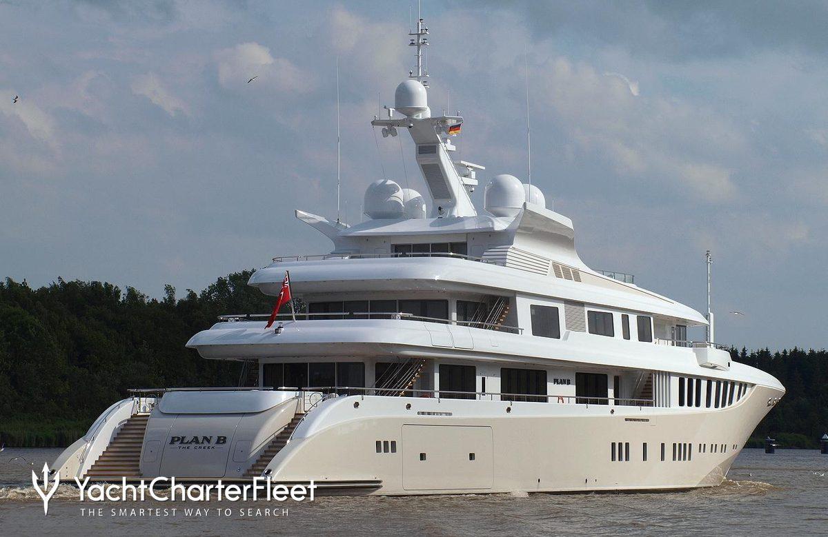 PLAN B Yacht Charter Price ADM Shipyards Luxury