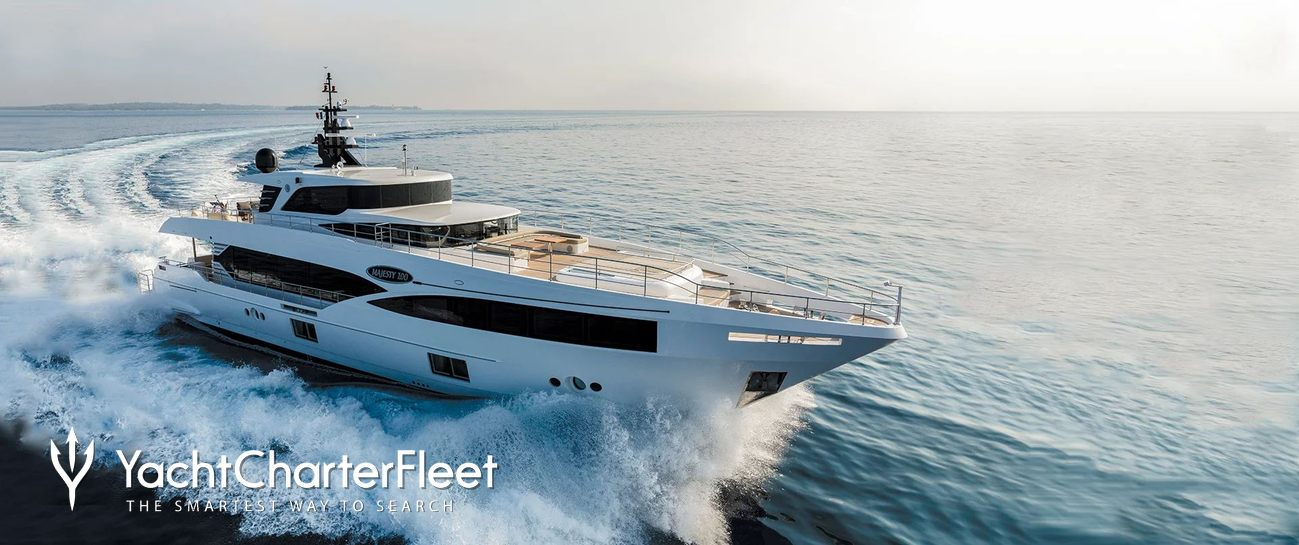 Majesty 100/06 Charter Yacht