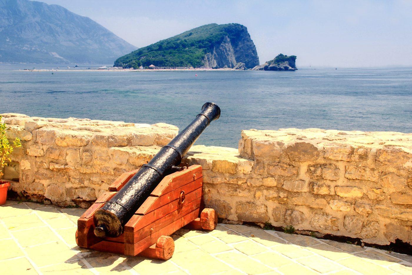 The Old Town of Dubrovnik on Croatia's coastline