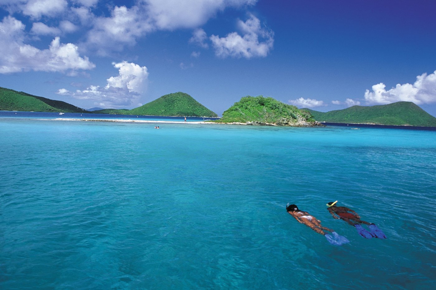 Explore the breath taking 'Alice in Wonderland' coral reef, BVI