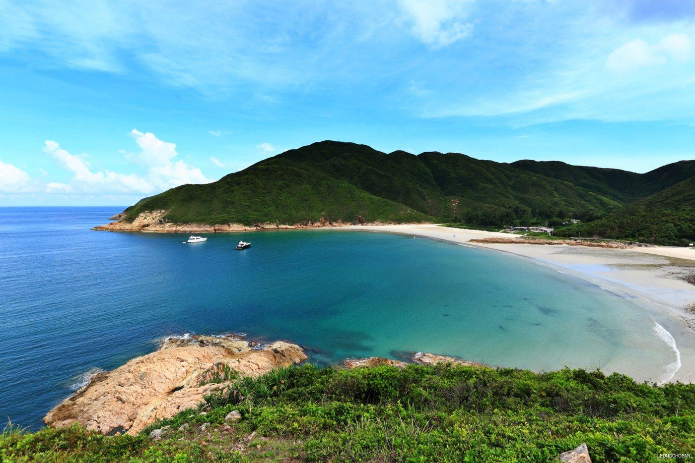 Beautiful natural rocky coast