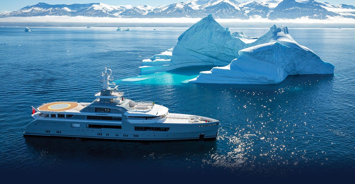 Antarctica: A superyacht vacation of a lifetime
