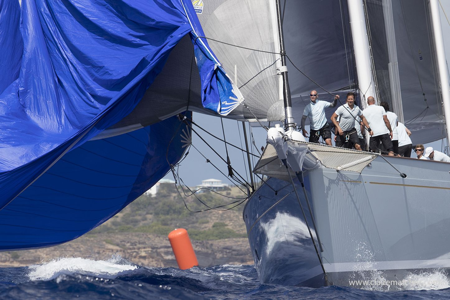 close up of a competitor at the Superyacht Challenge Antigua