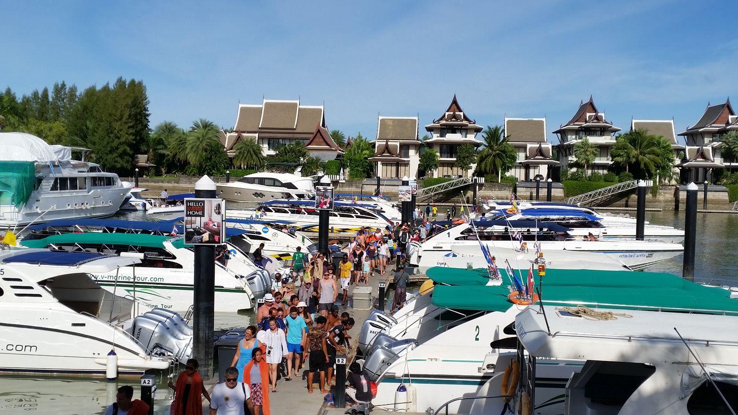 Royal Phuket Marina, home of the Phuket Rendezvous 2018