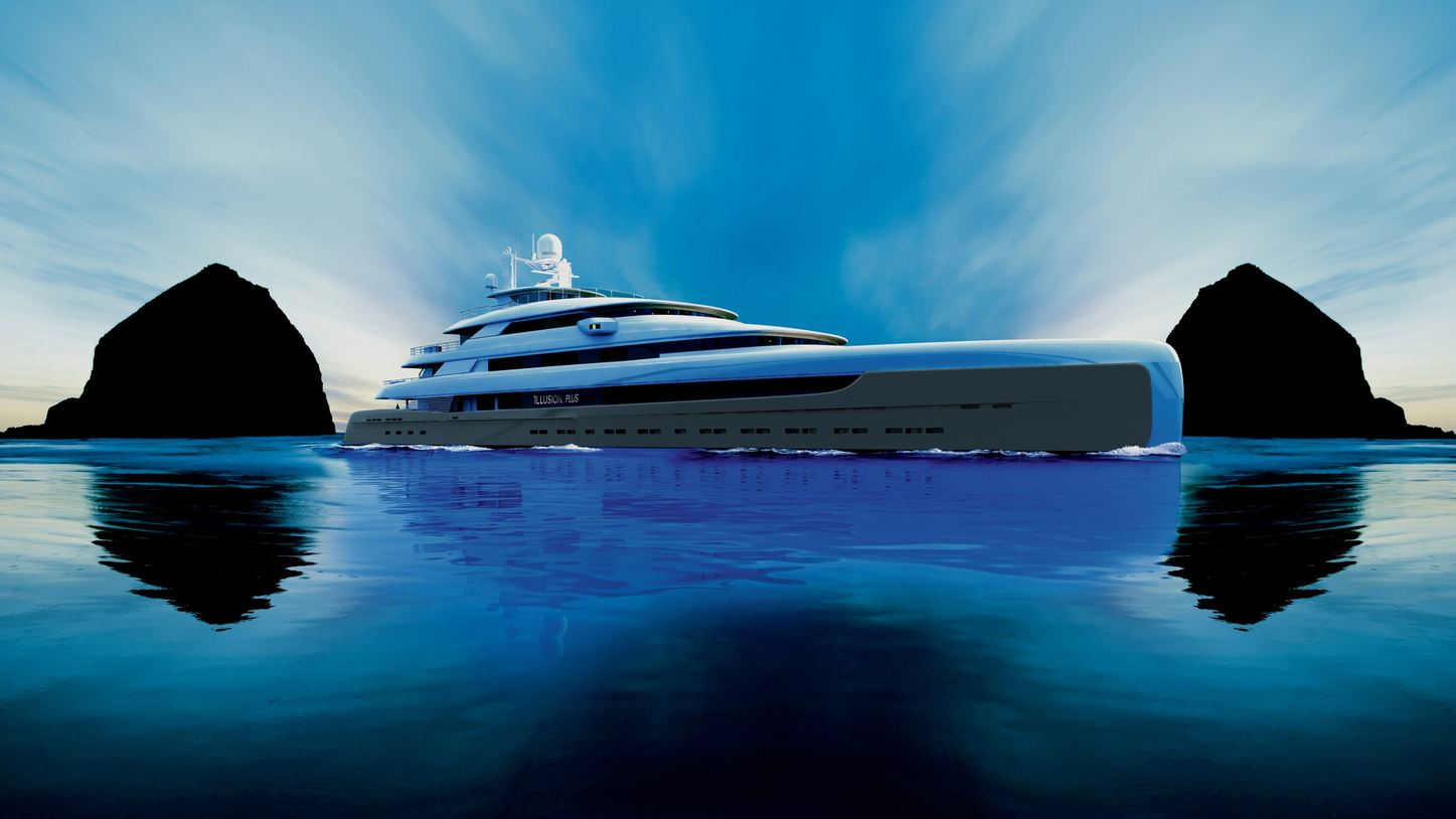 superyacht Illusion Plus will attend the Monaco Yacht Show 2018