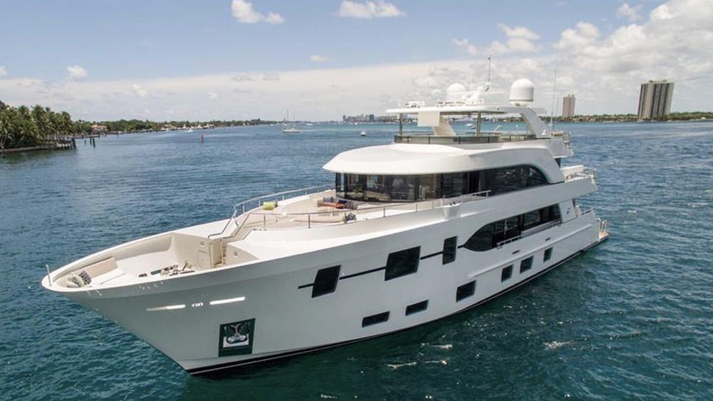 superyacht The Rock on a Bahamas yacht charter