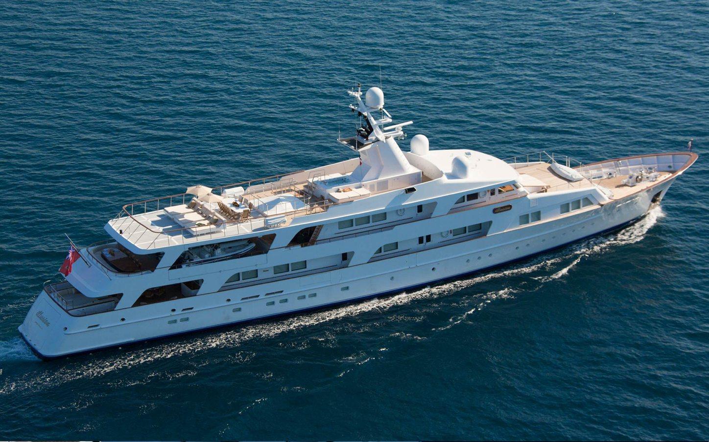 Illusion I yacht on sea