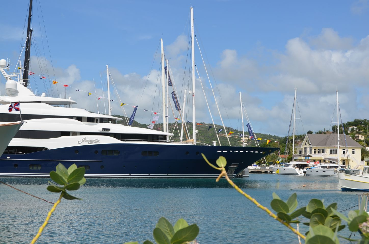 superyacht AMARYLLIS at the Antigua Charter Yacht Show