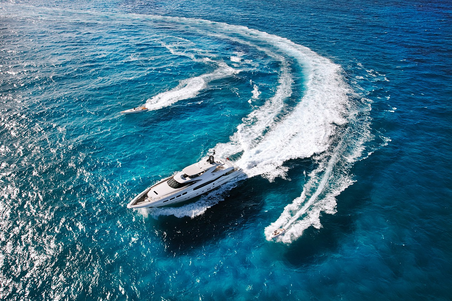 charter yacht Infinity Pacific takes to the Australian waters alongside two tenders