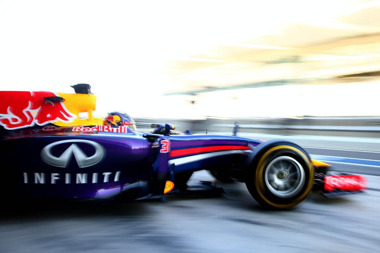 Car at Abu Dhabi Grand Prix F1