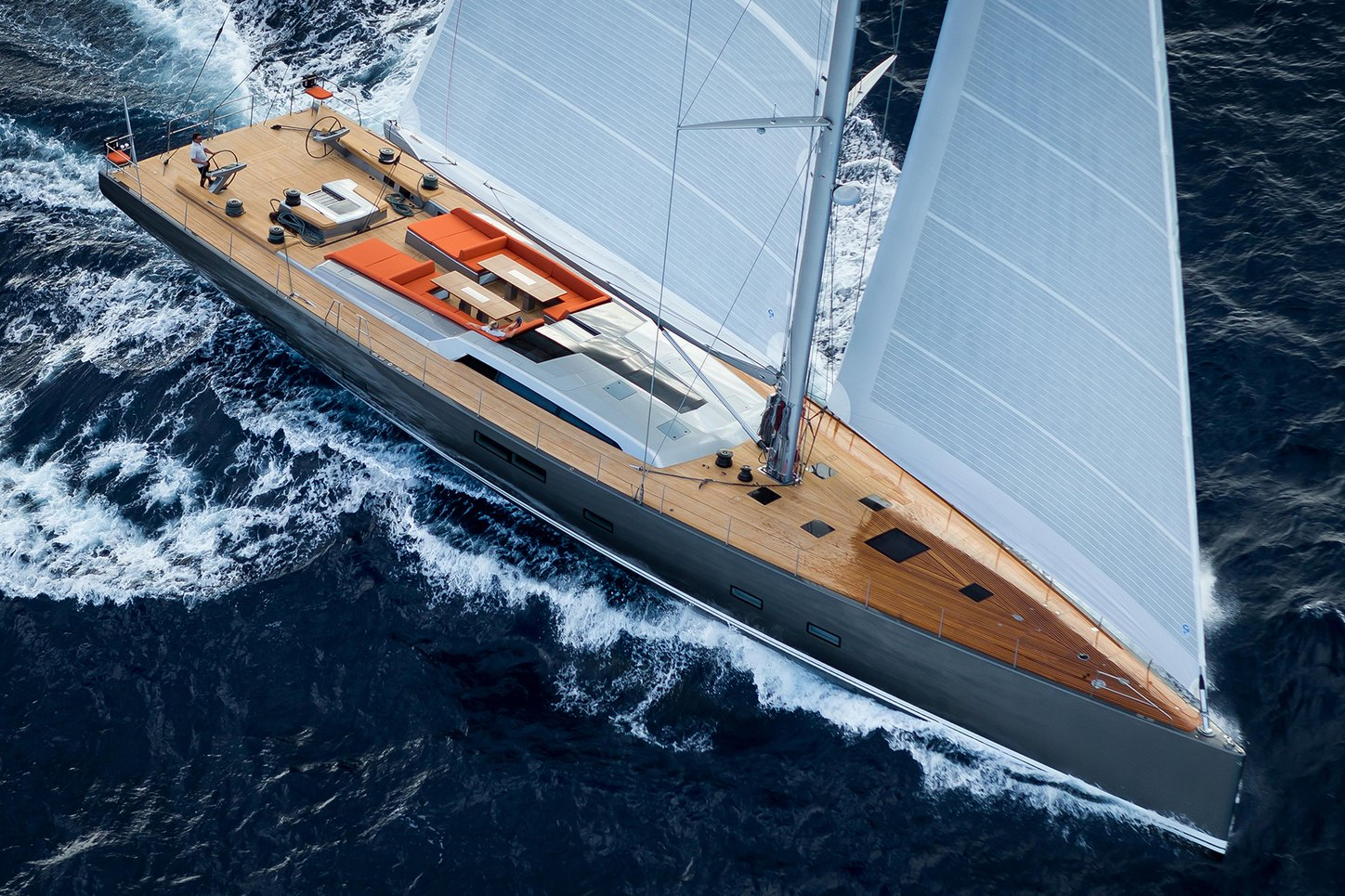 superyacht NIKATA winner of the Superyacht Class at the RORC Caribbean 600