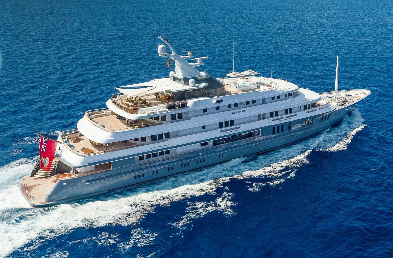 charter yacht BOADICEA cruising on a Mediterranean yachting vacation