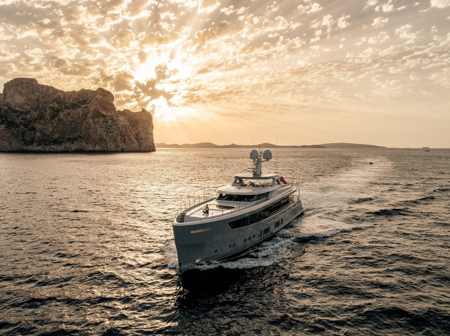 delta one superyacht in ibiza
