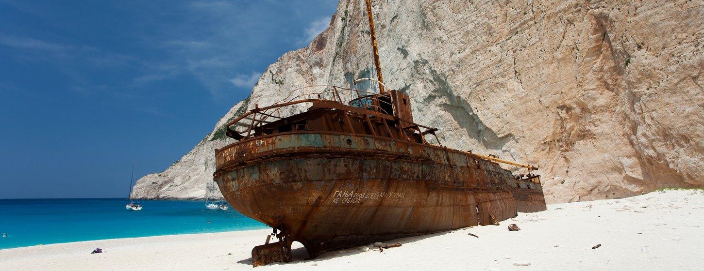 Shipwreck Beach (Navagio Beach) Image 5